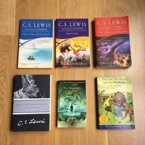 CS Lewis Science Fiction & Narnia Books